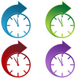 Forward Time royalty free illustration