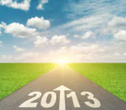 Forward to 2013 Royalty Free Stock Images