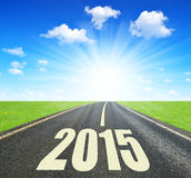 Forward to the New Year 2015 Stock Photos