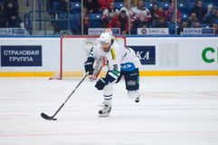 Forward Ville Leino (18) in action Royalty Free Stock Image