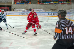 Forward Voronin Artem (17) Royalty Free Stock Photos