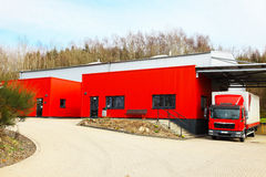 Forwarding agency. The shipping company stock photo