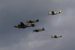 Forza aerea dell'americano di WWII Fotografia Stock Libera da Diritti