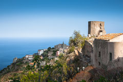 Forza d'Agro - Sicilian historical city Royalty Free Stock Photos