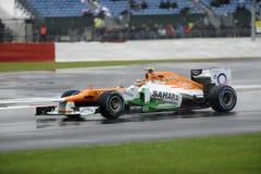 Forza India F1 Fotografie Stock Libere da Diritti