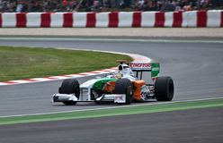Forza India VJM02 Fotografia Stock
