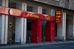 Forza rossa caffe Stock Photo