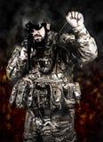 Forze armate Fotografia Stock Libera da Diritti