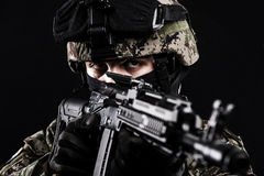 Forze armate russe Immagini Stock