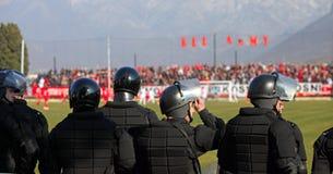 Forze di polizia speciali fotografia stock