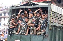 Forze speciali del Nepal militari fotografie stock