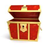 Forziere di legno royalty illustrazione gratis
