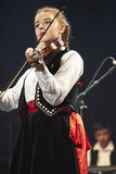 Fosbrooks violoniste Stock Foto