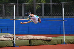 fosbury flop Stock Photos