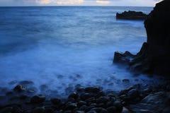 Foschia del mare Immagine Stock