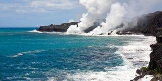 Foschia della lava in Hawai Fotografia Stock Libera da Diritti