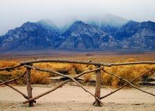 Foschia della montagna Fotografia Stock Libera da Diritti