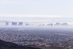 Foschia di Las Vegas Fotografia Stock Libera da Diritti
