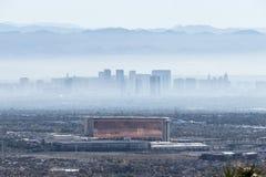 Foschia di Las Vegas Immagini Stock Libere da Diritti