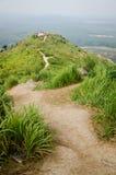 Foschia di mattina della collina di Broga, Malesia Fotografia Stock