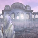 Foschia in India Fotografia Stock