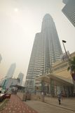 Foschia sopra Kuala Lumpur, Malesia Immagini Stock Libere da Diritti