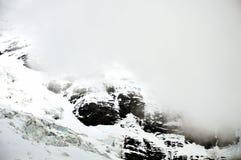 Foschia sulla montagna di Jungfrau Fotografia Stock Libera da Diritti