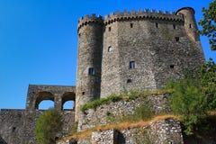 Fosdinovo, das Malaspina-Schloss Lizenzfreie Stockfotos