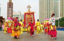 Foshan Autumn Parade Royalty Free Stock Image