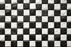 Foshan black and white tile Royalty Free Stock Image