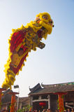 Danza de león Fotos de archivo