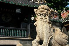 Foshan,Guangzhou,Guangdon,China. Foshan is a national historical and cultural city in China and  the birthplace of Cantonese opera, one of the birthplace of Stock Photos