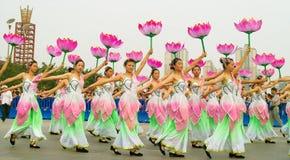 Foshan-Herbst-Parade Stockbild