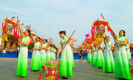 Foshan-Herbst-Parade Lizenzfreie Stockfotografie