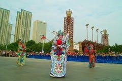 Foshan-Herbst-Parade Stockfoto