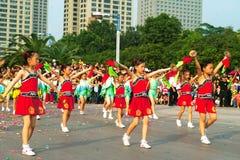 Foshan-Herbst-Parade Stockfotografie