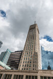 Foshay Tower of Minneapolis Royalty Free Stock Photography
