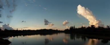 Fossé d'Angkor Vat Images libres de droits