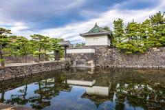 Fossé impérial de palais de Tokyo image stock