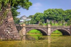Fossé impérial de palais de Tokyo photo stock