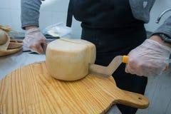 Fossa cheese Stock Photo