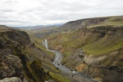 Fossa ravine, Iceland. Stock Photo