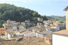 Fossalto Campobasso Molise Włochy górska wioska fotografia royalty free