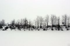 Fossano en invierno imágenes de archivo libres de regalías