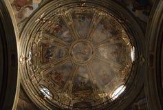 Fossano katedra - Cuneo Włochy Zdjęcia Royalty Free