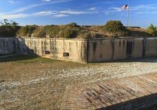 Fossato asciutto di Pickens della fortificazione Immagine Stock Libera da Diritti