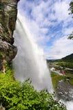 Fossatun Wasserfall VI Stockfoto