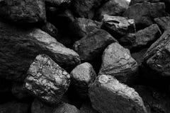 Fossiele steenkool royalty-vrije stock fotografie