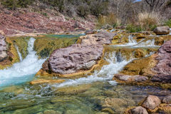 Fossil Creek Scenic Landscape. The scenic beauty of fossil creek in central arizona Royalty Free Stock Images
