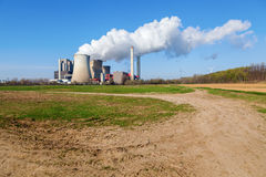 Fossil-fuel power station Stock Photos